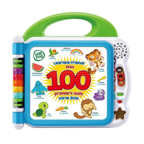 Large plastic multi-coloured book by LeapFrog with 100 new words to learn
