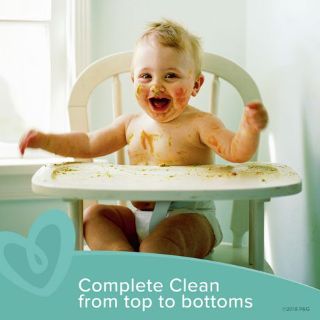 Pampers Wipes Complete Clean Unscented 10X Refills 720 Count - image 5 of 7