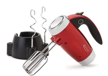 Betty Crocker™ Metallic Red 7-Speed Power-Up™ Hand Mixer With Stand - image 3 of 6