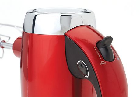 Betty Crocker™ Metallic Red 7-Speed Power-Up™ Hand Mixer With Stand - image 6 of 6