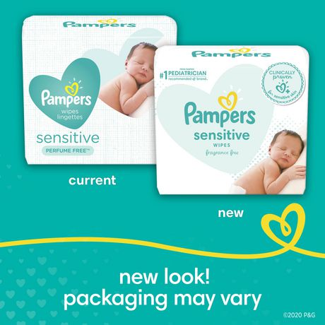 Pampers Baby Wipes Sensitive Tub Walmart Canada
