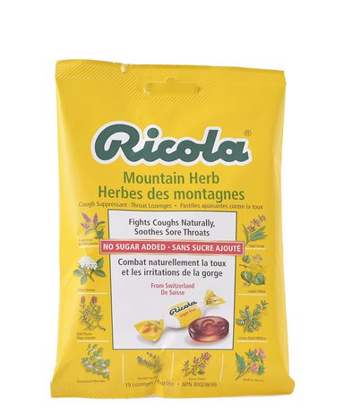 Ricola Mountain Herb Cough Suppressant Throat Drops - image 2 of 6
