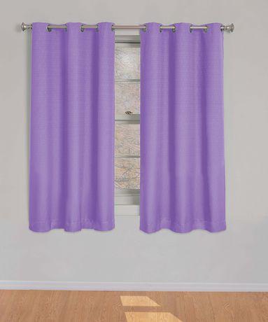 Purple Blackout Curtains Canada Curtain Menzilperde Net