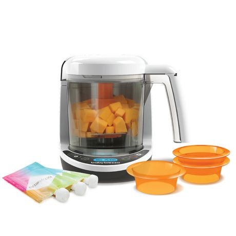 Baby Brezza 174 One Step Baby Food Maker Complete Walmart