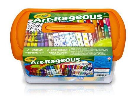 Crayola Art-Rageous Art Tub