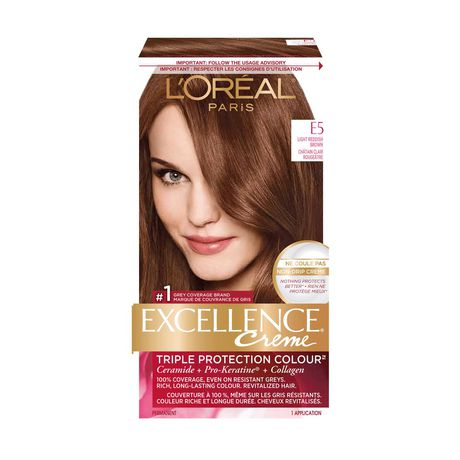 l 39 oreal paris excellence cr me triple protection colour permanent hair colour walmart canada