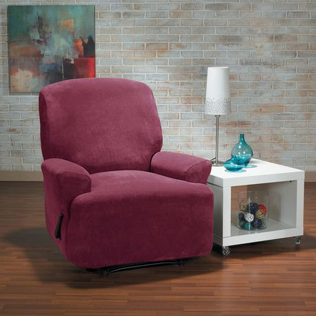 Housse extensible pour fauteuil inclinable hanover de for Housse causeuse inclinable