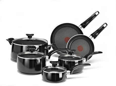 t fal matisse 10 piece cookware set walmart canada. Black Bedroom Furniture Sets. Home Design Ideas
