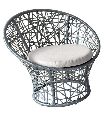 Henryka 3 Piece Bistro Set With Cushions - image 3 of 4