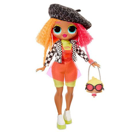 L.O.L. Surprise! O.M.G. Neonlicious Fashion Doll with 20 Surprises - image 1 of 9