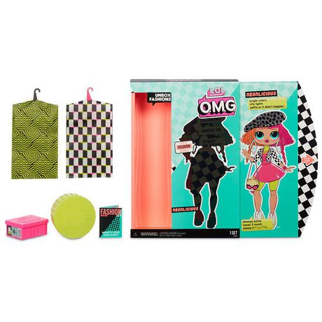 L.O.L. Surprise! O.M.G. Neonlicious Fashion Doll with 20 Surprises - image 4 of 9