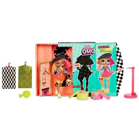 L.O.L. Surprise! O.M.G. Neonlicious Fashion Doll with 20 Surprises - image 6 of 9