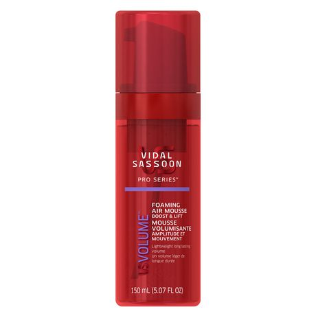Vidal Sassoon Pro Series Boost & Lift Foaming Air Mousse - image 1 of 1