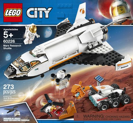 LEGO® City Mars Research Shuttle 60226 Building Kit (273 Piece) - image 5 of 6