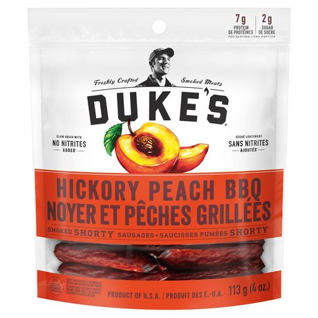 Duke's Smoked Shorty Sausages-Hickory Peach BBQ - image 2 of 3