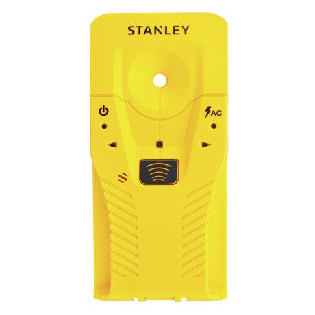 Yellow stud-finder from Stanley