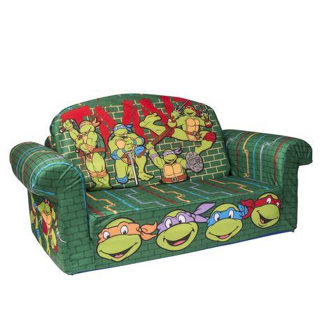 Marshmallow Flip Open Sofa Nickelodean S Teenage Mutant Ninja Turtles Retro