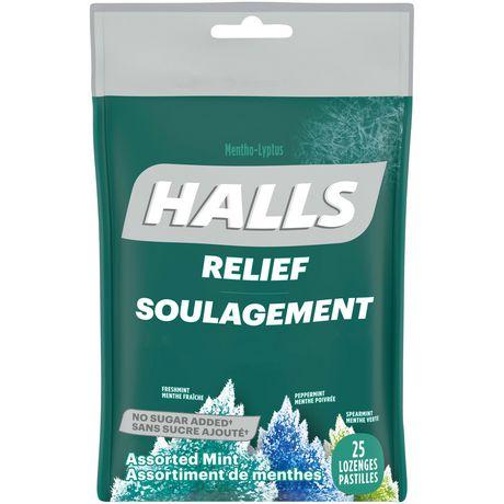 Pastilles Halls contre la toux soulage de trois façons - image 1 de 1