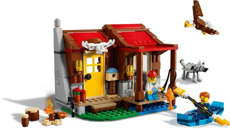 LEGO® Creator 3in1 Outback Cabin 31098 Building Kit (305 Piece) - image 4 of 6
