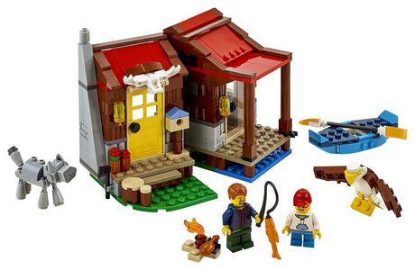 LEGO® Creator 3in1 Outback Cabin 31098 Building Kit (305 Piece) - image 3 of 6