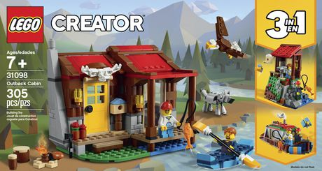 LEGO® Creator 3in1 Outback Cabin 31098 Building Kit (305 Piece) - image 5 of 6