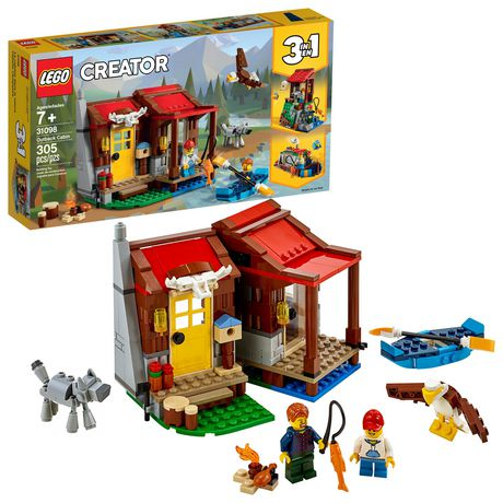 LEGO® Creator 3in1 Outback Cabin 31098 Building Kit (305 Piece) - image 1 of 6