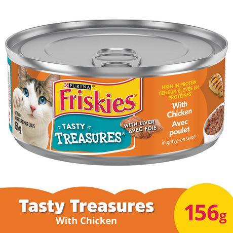 Friskies Tasty Treasures Gravy Wet Cat Food; Chicken & Cheese - image 1 of 2