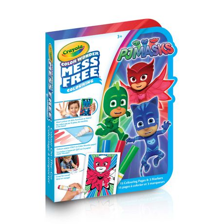 Crayola PJ Masks On-The-Go Color Wonder Colouring Pad - image 1 of 1
