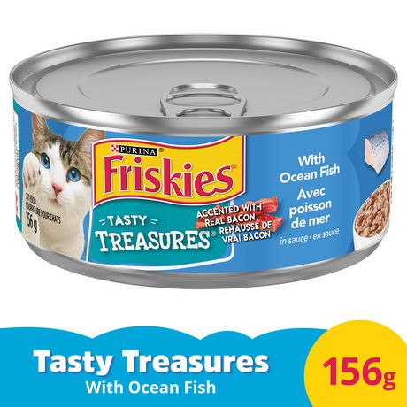 Purina friskies tasty treasures with ocean fish in for Purina fish food