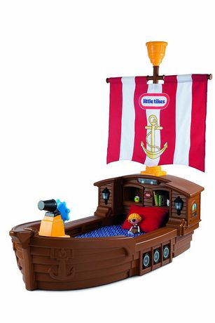 mga little tikes pirate toddler bed - Lit Pirate