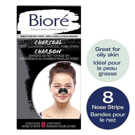 Walmart Oil Change Price >> Bioré Biore Deep Cleansing Charcoal Pore Strip 8s | Walmart Canada