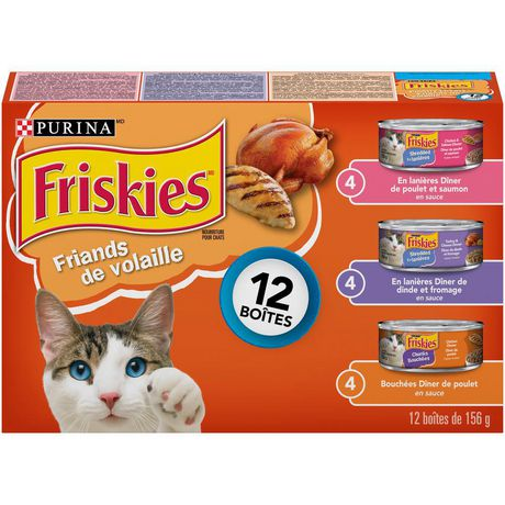Friskies Poultry Lovers Wet Cat Food Variety Pack - image 2 of 3