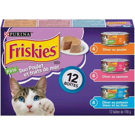 Friskies Chicken & Seafood Combo Wet Cat Food Variety Pack - image 2 of 3
