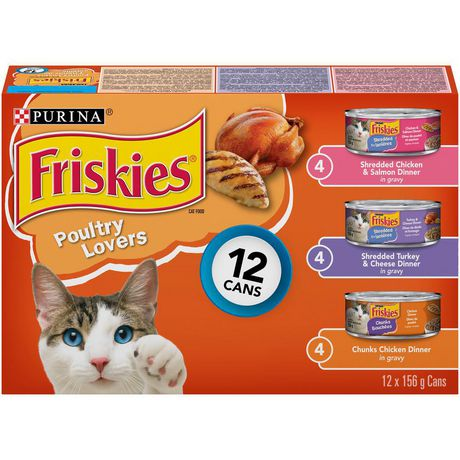Friskies Poultry Lovers Wet Cat Food Variety Pack - image 1 of 3