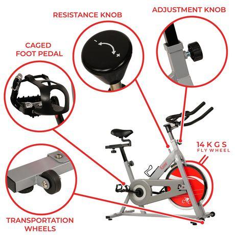 Vélo de cyclisme d'intérieur SF-B1001S de Sunny Health & Fitness - image 3 de 9