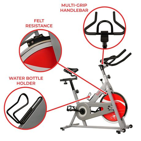 Vélo de cyclisme d'intérieur SF-B1001S de Sunny Health & Fitness - image 4 de 9