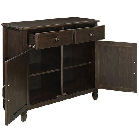 armoire de rangement hampshire pour l 39 entr e de wyndenhall walmart canada. Black Bedroom Furniture Sets. Home Design Ideas