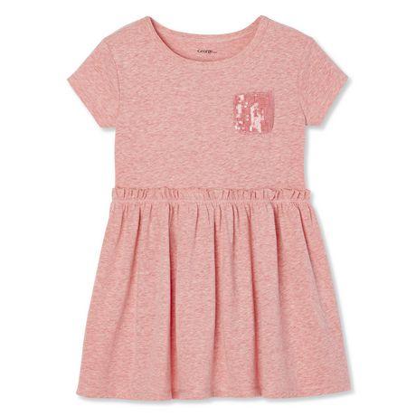 4a0f7b6c8b George Toddler Girls' Sequin Pocket Dress   Walmart Canada