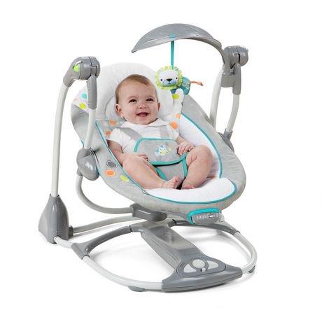 Ingenuity Convertme Swing 2 Seat Ridgedale Portable Swing