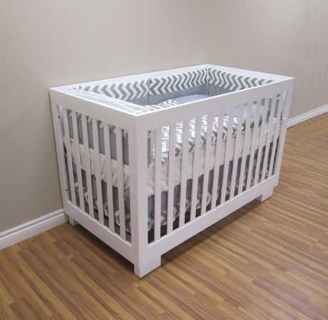 concord baby metro white crib with attached changing table cribs for sale furniture