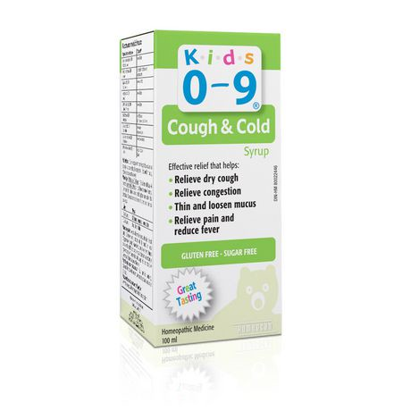 Kids 0 9 Cough Amp Cold Syrup Walmart Canada