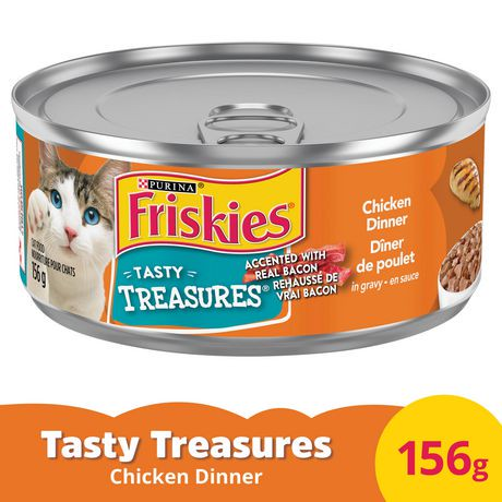 chick n gravy dinner line Friskies savory shreds with chicken in gravy canned cat food,  friskies prime filets chicken & tuna dinner in gravy canned cat food, 55-oz, case of 24 $1152 .