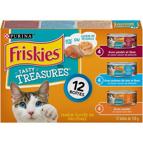 Friskies Tasty Treasures with Cheese Wet Cat Food Variety Pack - image 2 of 4
