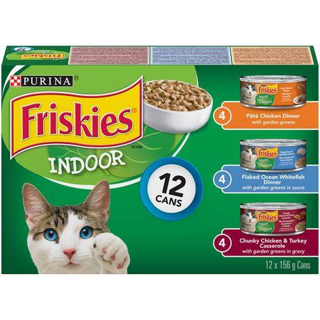 Friskies Indoor Wet Cat Food Variety Pack - image 1 of 3