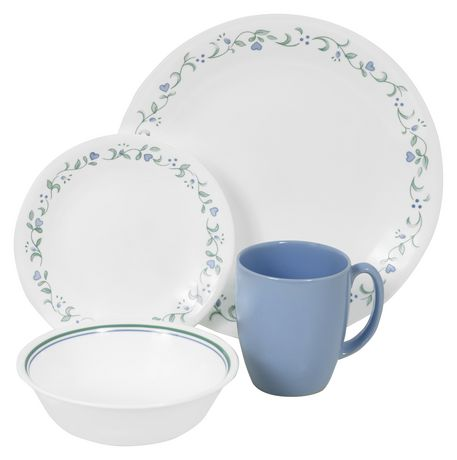 sc 1 st  Walmart Canada & Corelle® Country Cottage Dinnerware Set 16pc | Walmart Canada
