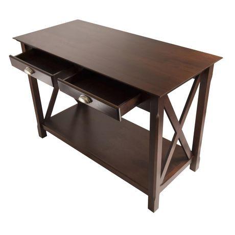 40544 xola console table walmart canada for Sofa table at walmart