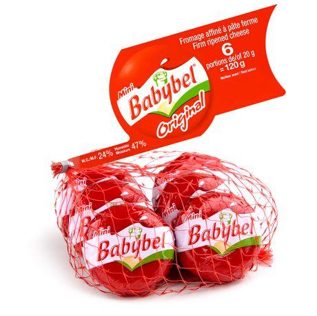 Mini Babybel Original Firm Ripped Cheese Walmart Canada
