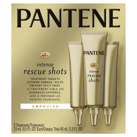 Pantene Pro-V Intense Rescue Shots Hair Ampoules for Intensive Repair of Damaged Hair - image 1 of 8