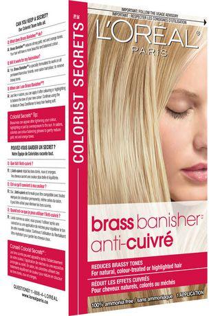L Oreal Paris Lop Colorist Secrets Brass Banisher Hair Colour
