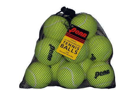 Balles avec sac en maille de Penn, ens. de 12 - image 1 de 1